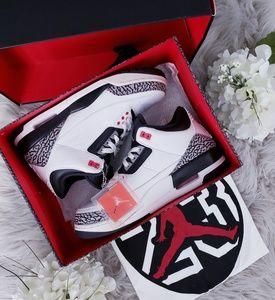 Nike Air Jordan 3 Retro Infrared 23 Black/Cement